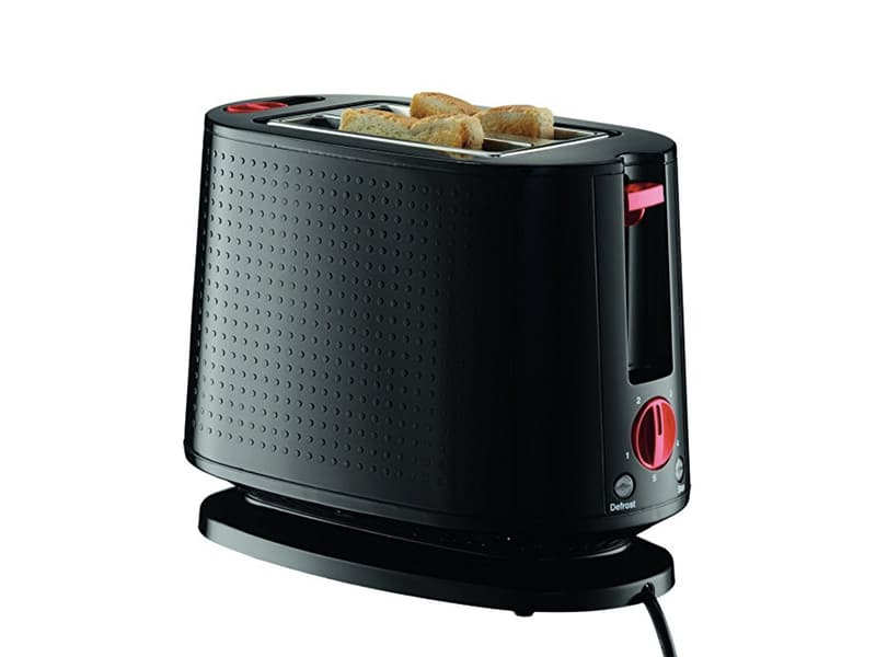 BODUM Bistro 2-Slice Toaster with Bun Warmer