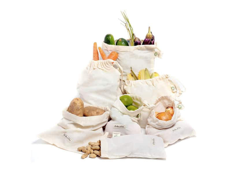 Muslin Organic Reusable produce bag
