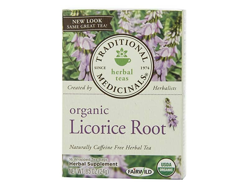 Organic Herbal Tea Licorice Root