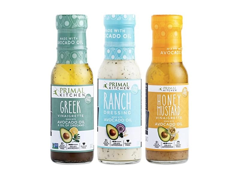 Primal Kitchen - Ranch, Greek and Honey Mustard Variety 3-Pack
