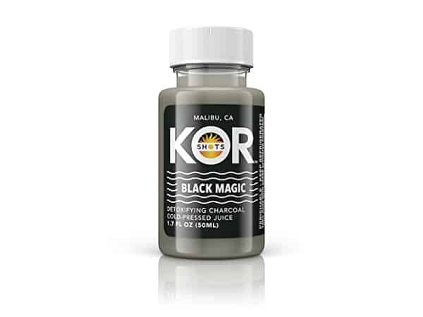 Kor Shots Black Magic Detoxifying Activated Charcoal
