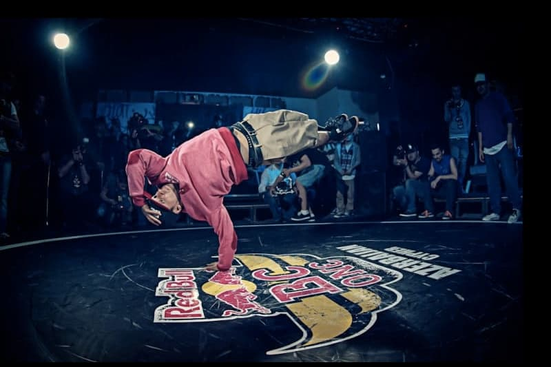 Judge and Red Bull BC One Champion Roxrite from the USA performs at Red Bull BC One Cypher Azerbaijan in the former Face Club in Baku, April 15, 2012.
